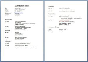 CV Voorbeeld   Klantenservicemedewerker | Solliciteer.net