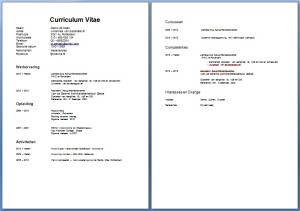 Verschillende soorten CV | Solliciteer.net