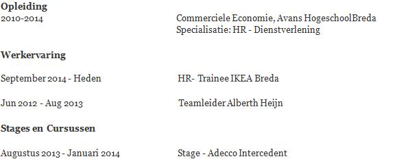 Hoe je stage vermelden op je CV | Solliciteer.net