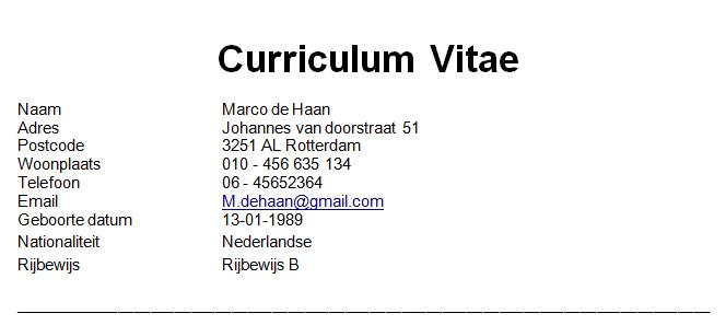 Rijbewijs vermelden op CV? Ja of nee? | Solliciteer.net