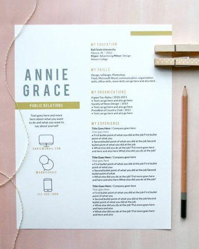 Creatief curriculum vitae