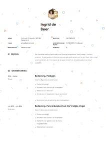 Cretief design Horeca CV bediening