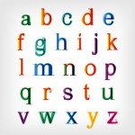 Lettertype kleur