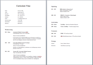 motivatiebrief jumbo CV Voorveeld   Verzorgende IG | Solliciteer.net motivatiebrief jumbo