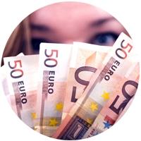 Jongere houd geld vast