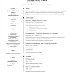 Voorbeeld CV Procesoperator