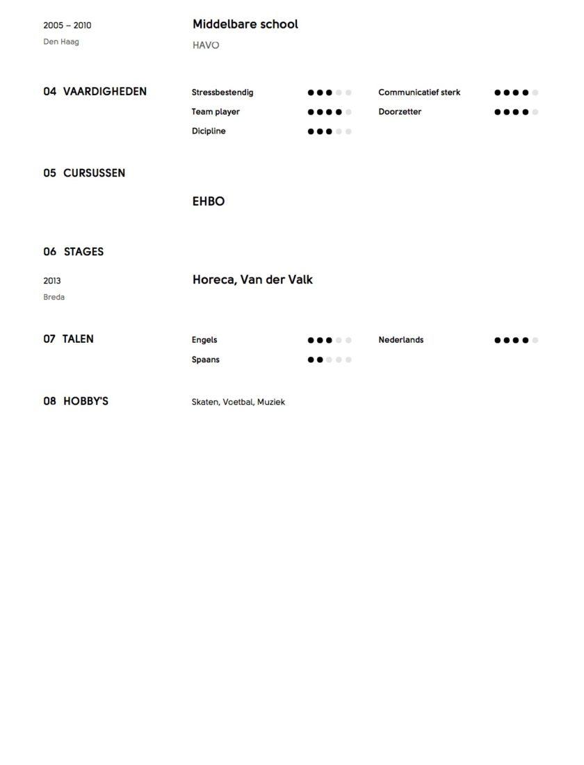Richy Bakker - CV - Afwasser (7)2