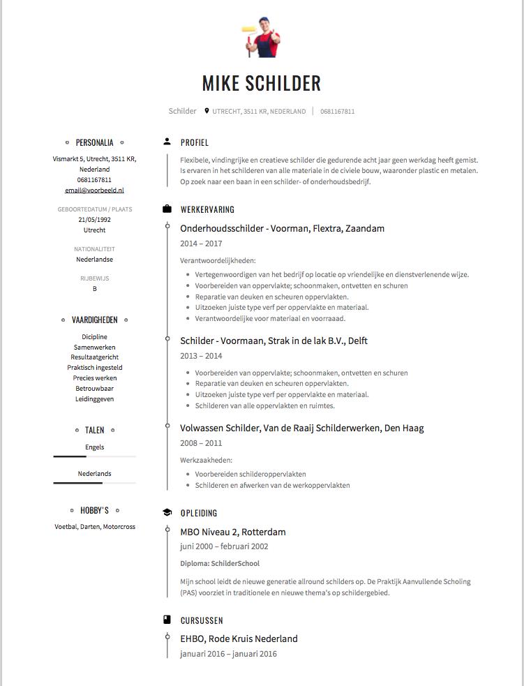 Schilder CV