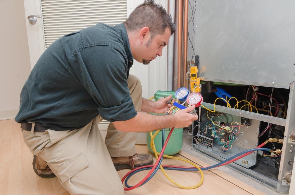 Elektricien aan het werk