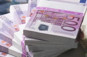 bundels van 500 euro briefgeld