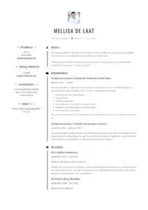Tandartsassistente CV Voorbeeld (1)