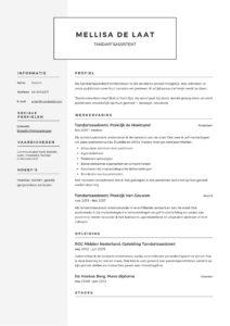 Tandartsassistente CV Voorbeeld (4)