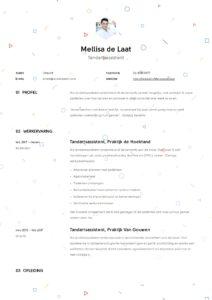 Tandartsassistente CV Voorbeeld (7)