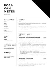 Verloskundige CV Voorbeeld (11)