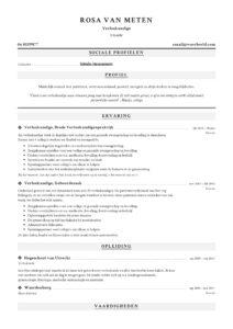 Verloskundige CV Voorbeeld (3)