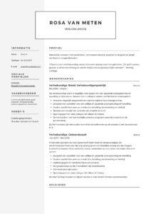 Verloskundige CV Voorbeeld (4)