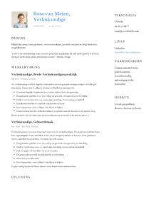 Verloskundige CV Voorbeeld (5)