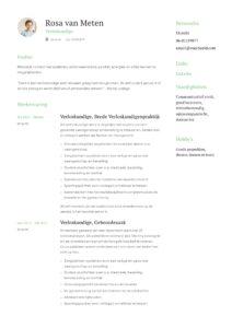 Verloskundige CV Voorbeeld (6)