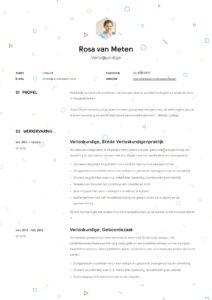 Verloskundige CV Voorbeeld (7)