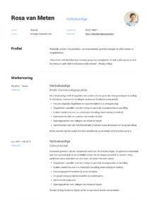 Verloskundige CV Voorbeeld (9)