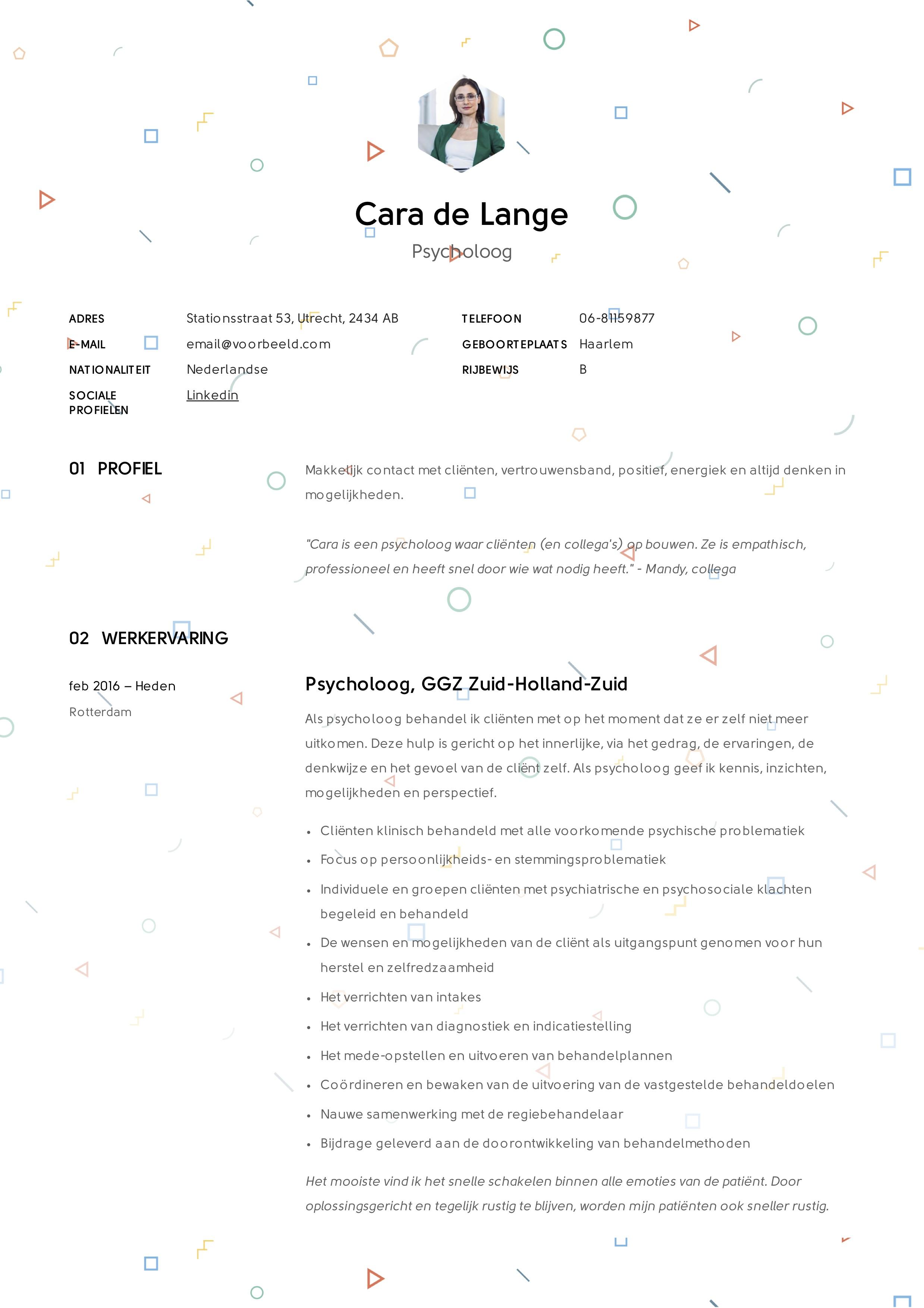 Cara_de_Lange_-_CV_-_Psycholoog (7)