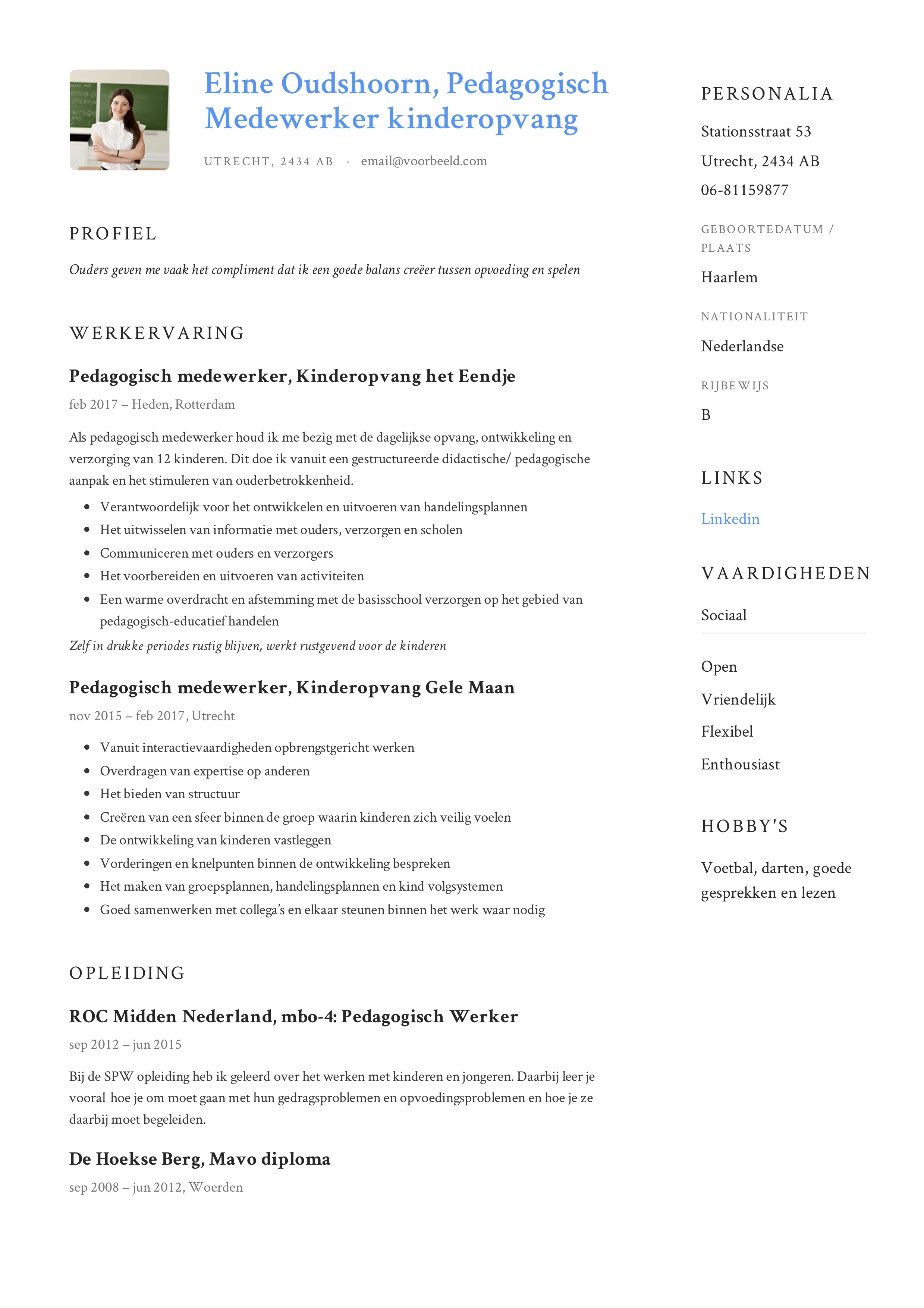 Eline_Oudshoorn_-_CV_-_Pedagogisch_Medewerker_kinderopvang (5)