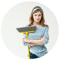 Huishoudelijk medewerkster
