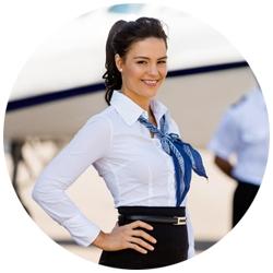 Stewardess CV Foto