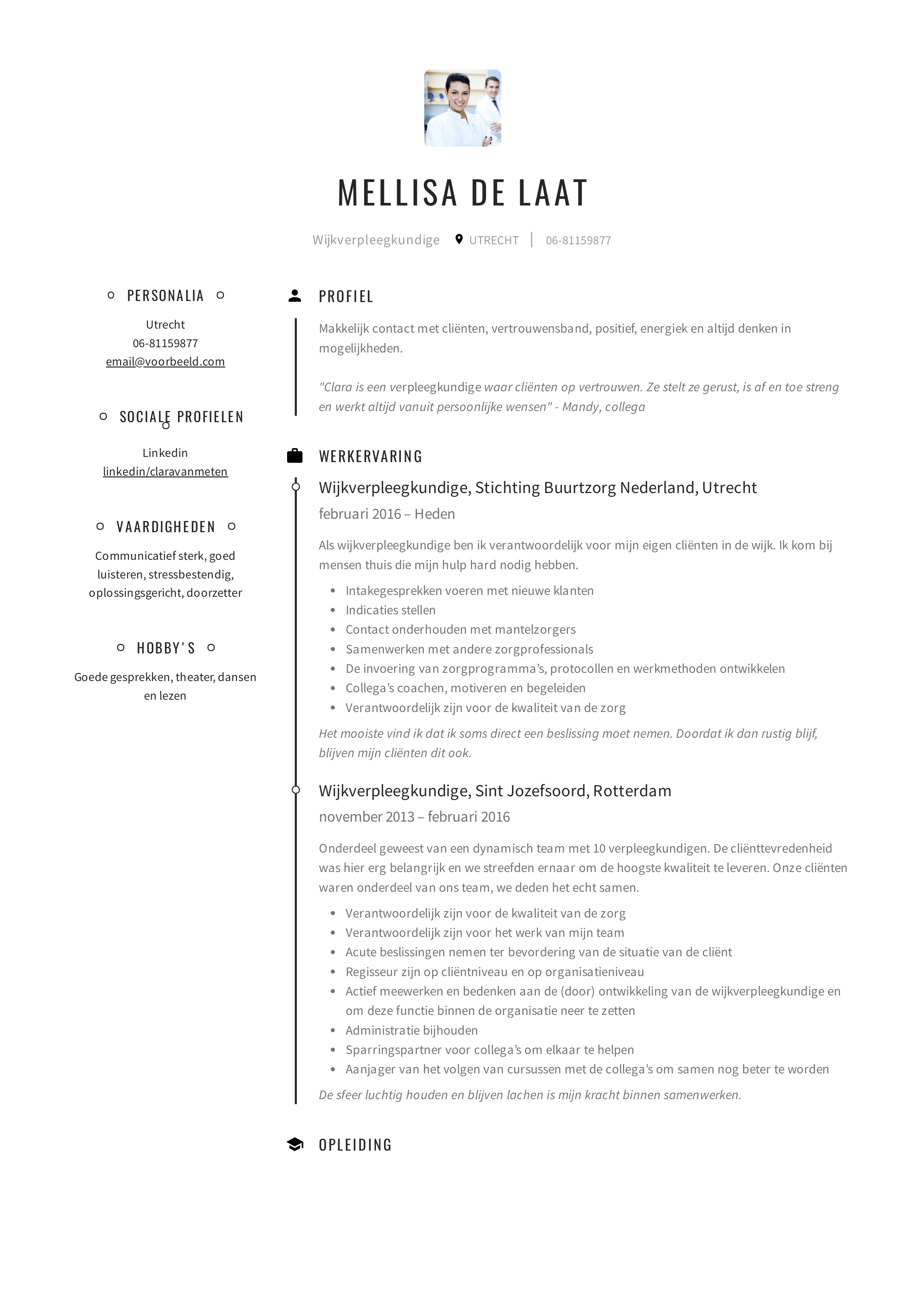 Mellisa_de_Laat_-_CV_-_Wijkverpleegkundige (1)