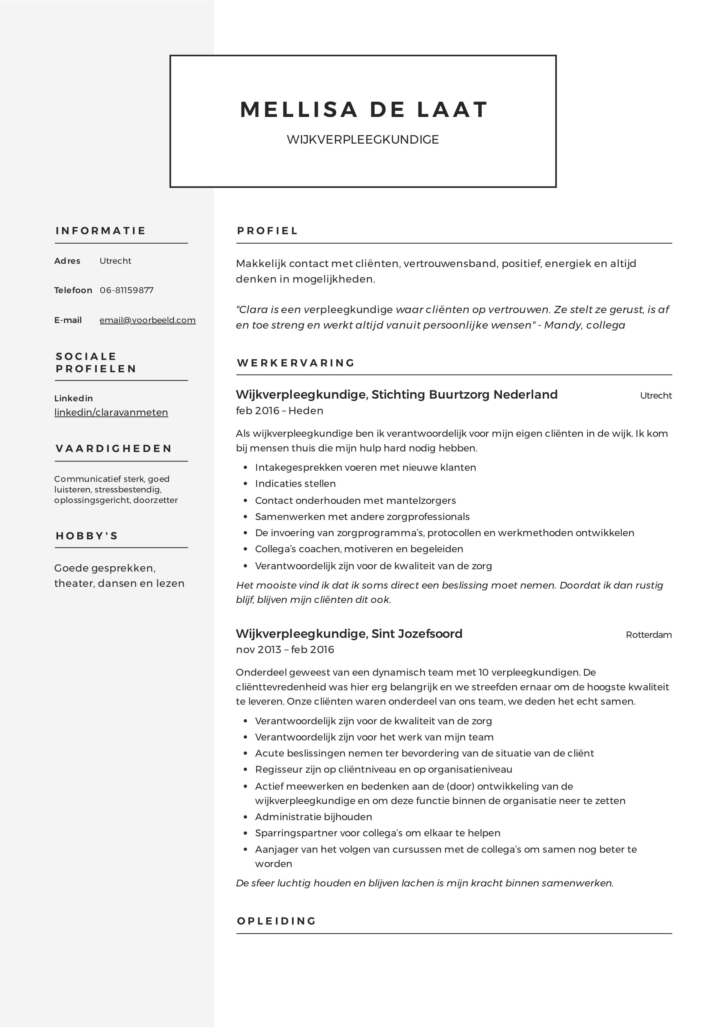 Mellisa_de_Laat_-_CV_-_Wijkverpleegkundige (4)