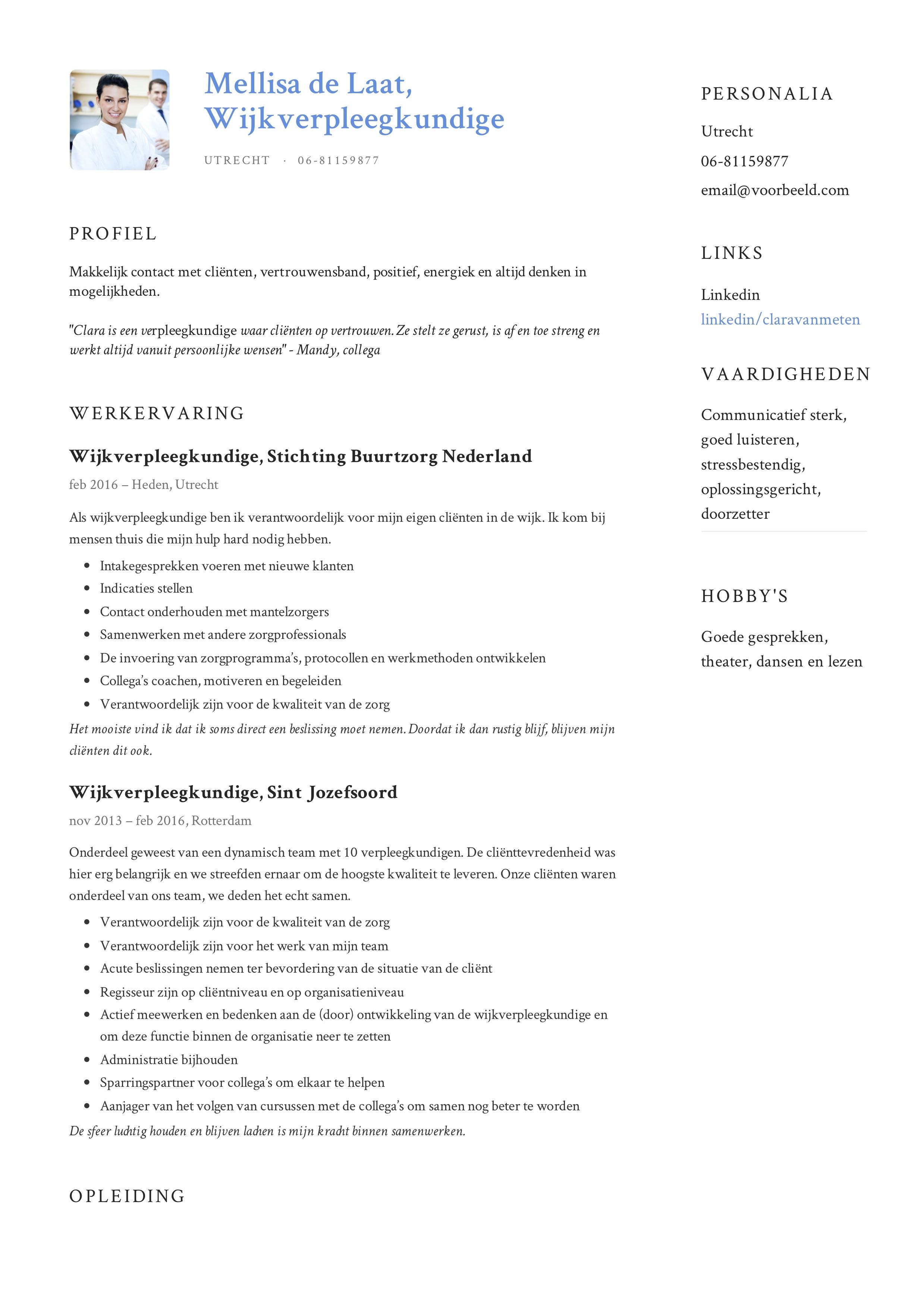 Mellisa_de_Laat_-_CV_-_Wijkverpleegkundige (5)