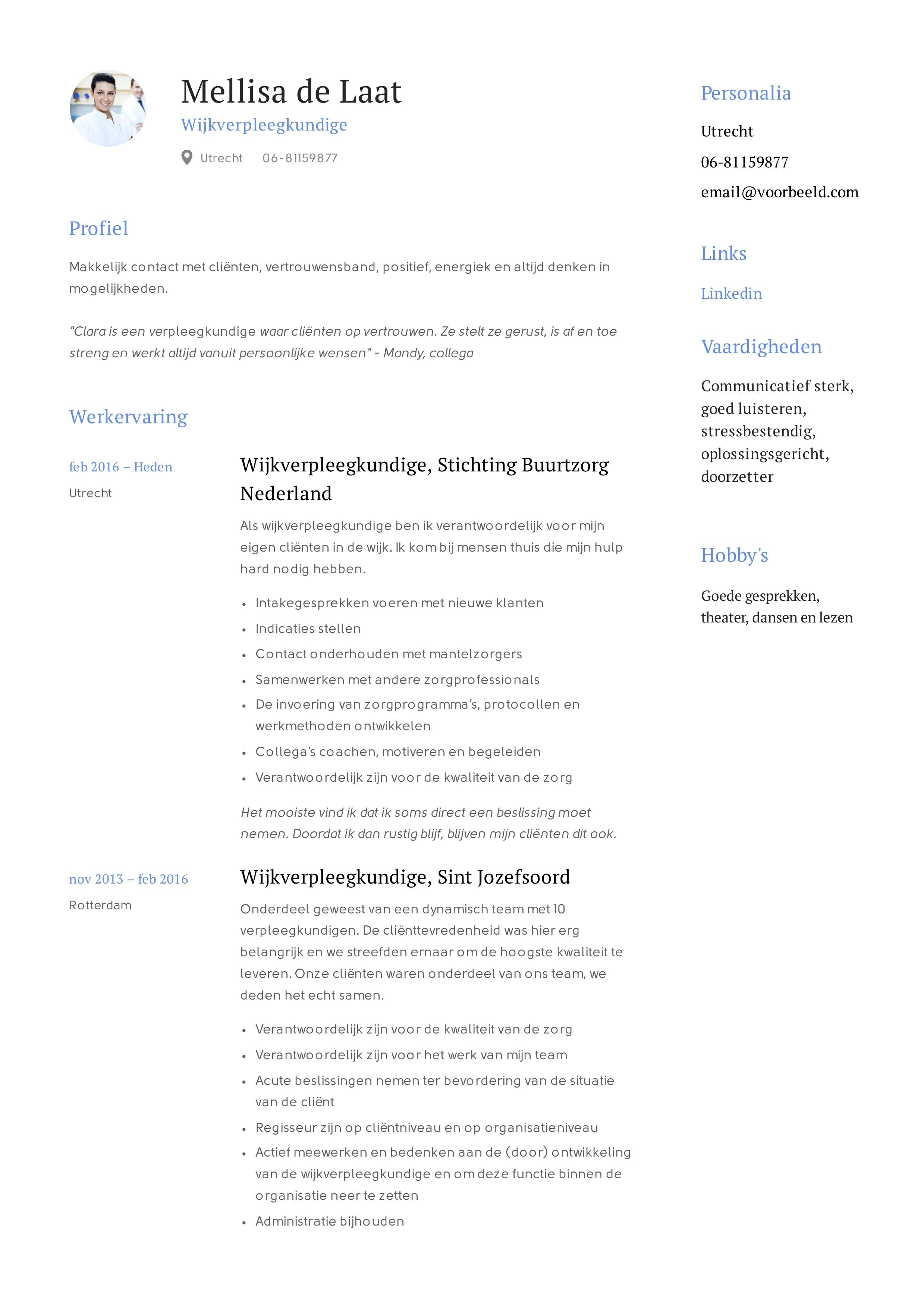 Mellisa_de_Laat_-_CV_-_Wijkverpleegkundige (6)
