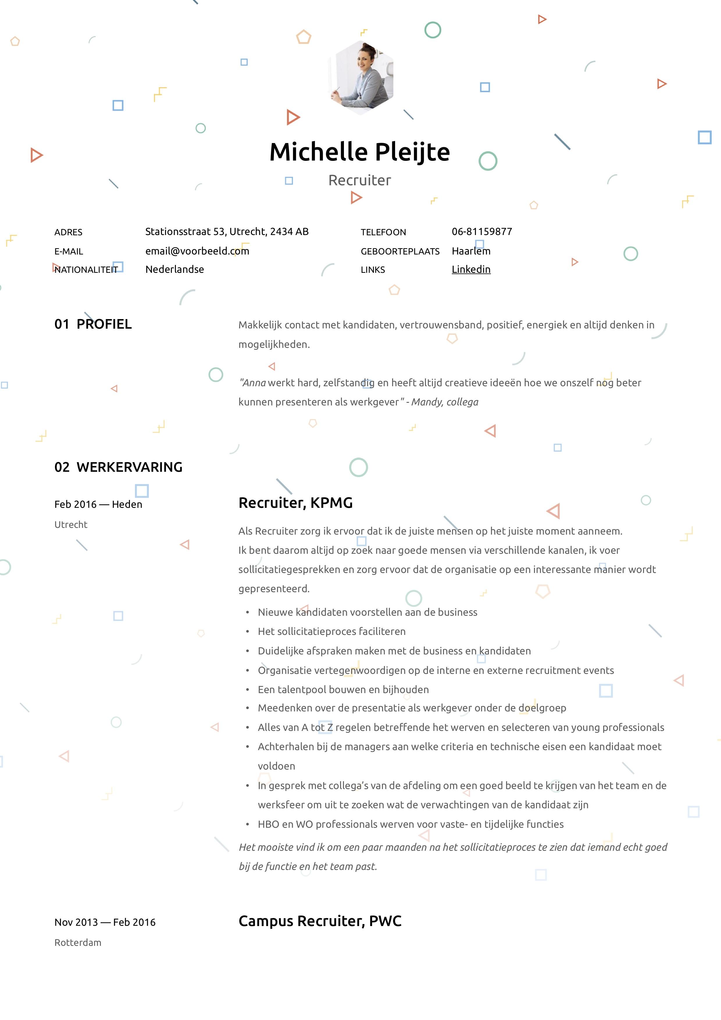 CV Recruiter