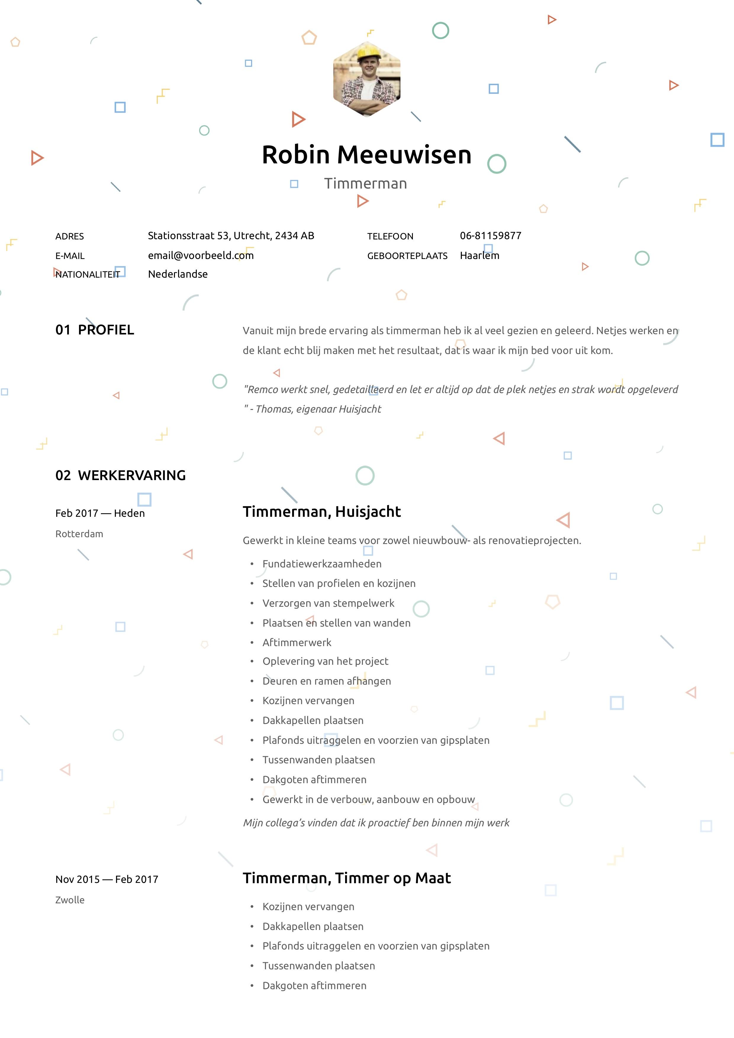 CV Timmerman