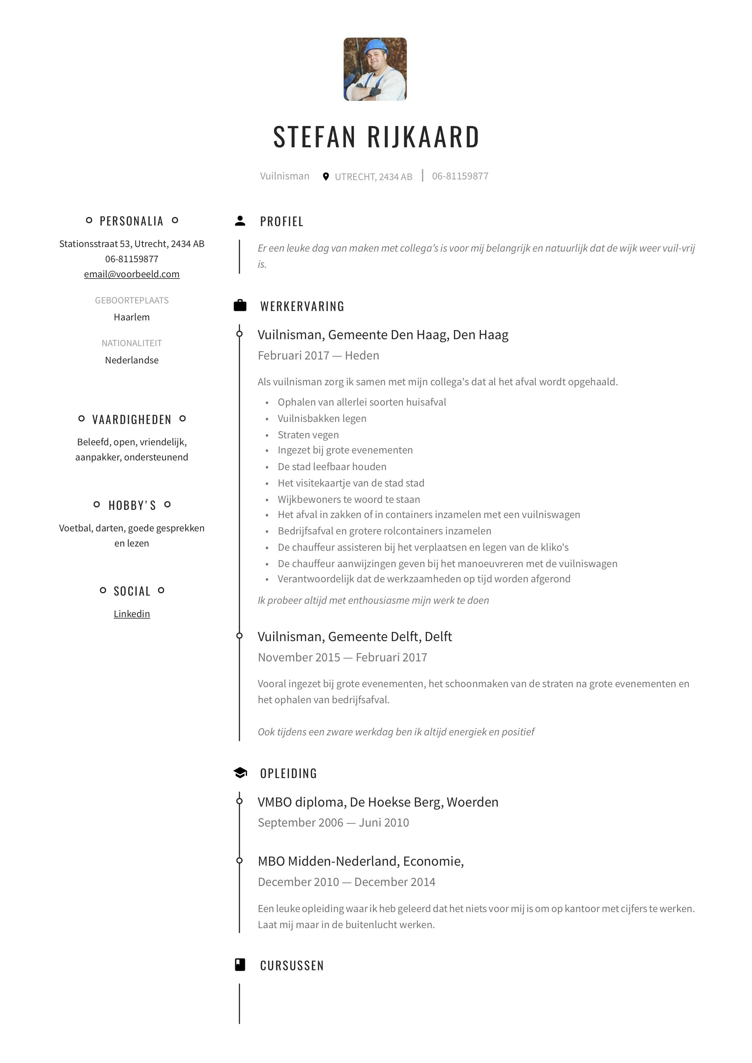 CV Vuilnisman huisvuilbelader